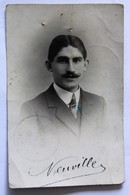 Photo Originale 59 Tourcoing 1920 Neuville Georges Commis Des Postes Carte De Travail - Tourcoing