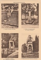 Rossignol ,multivues,Tombe Psichari,stèle,Choeur Autel, Monument Coloniaux( Grand Format ) - Tintigny