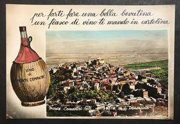 Monte Compatri Panorama   VIAGGIATA 1960 Leggermente Rovinata Al R. COD.C.2011 - Roma