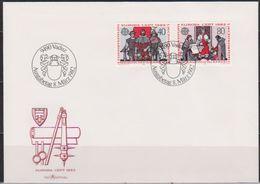 Lichtenstein FDC  1982   MiNr.791 - 792 Europa ( D 6146 ) Günstige Versandkosten - FDC