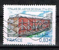 Frankreich 2014, Michel# 5995 O Courthouse Of Douai 1714-2014 - France