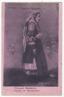 GREECE THESSALONIKI SALONICA, MACEDONIAN WOMAN IN ETHNIC COSTUME  C1916 Vintage Salonique Postcard - Greece