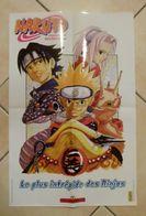 Naruto - Le Plus Intrépide Des Ninjas - Poster 40cm X 60cm (plié En 4) - Manga Des éditions Kana - Masashi Kishimoto - Affiches & Offsets