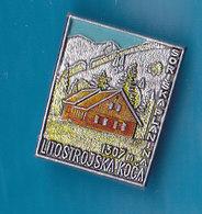 Mountain Lodge Litostrojska Koca Soriska Planina 1307m  Cottage Alpinism Mountaineering Old Pin Slovenia - Alpinism, Mountaineering