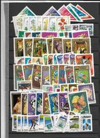 Hungary, Modern, Mostly Complete Sets (10 Scans) - Timbres