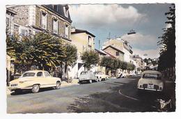 94 Villeneuve St Georges Rue Carnot VOIR ZOOM Panhard PL17 Citroën 2CV Renault Dauphine Garage ? Carnot - Villeneuve Saint Georges