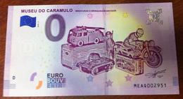 VOITURE CAMION CHAR MOTO DINKY TOYS MATCHBOX BILLET ZERO EURO SOUVENIR PORTUGAIS 2018 - Voitures