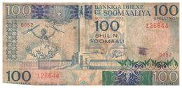 Billets > Somalie> 100 Shillings 1987 - Somalie