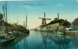 Steenwijk; Steenwijkerdiep (Met Molen) - Niet Gelopen. (Nauta - Velsen) - Steenwijk