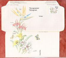Aerogramme Protea Blumen, Ungebraucht (54548) - Airmail