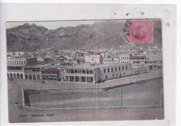 ADEN. GENERAL VIEW. I BENGHIAT SON. CIRCA 1911. OBLITERE. YEMEN- BLEUP - Yemen