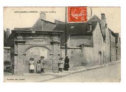 89 Coulanges La Vineuse Fontaine Du Belay  Cpa Carte Animée Animation Cachet 1910 - Coulanges La Vineuse