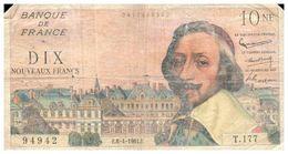 Billets >  France >10 NF 1961 - 1959-1966 Nouveaux Francs