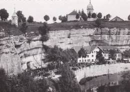 1U - 25 - Notre-Dame De Remonot - Doubs - L'Hôtel De La Grotte Et L'Eglise Du Village - Altri Comuni