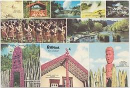 ROTORUA, New Zealand, Multi View, Used Postcard [21358] - New Zealand