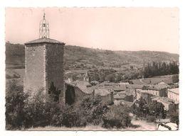 Riez -  La Tour De L'horloge Et La Ville -  CPSM° - France
