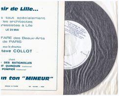 En Souvenir De Lille  Architetectes Congressistes  Octave Collot  PAULO DES BATIGNOLLES   Le P'tit Quinquin  Le Pompier - Humor, Cabaret