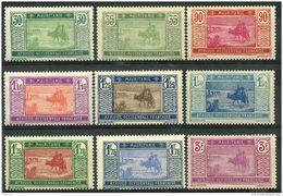Mauritanie (1928) N 57 à 61 * (charniere) - Mauritanie (1906-1944)