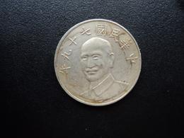 TAÏWAN : 10 YUAN   79 (1990)  Y 553      TTB - Taiwan