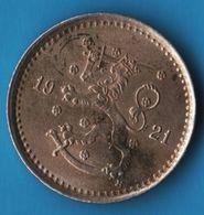 FINLAND 50 PENNIA 1921 H KM# 26 - Finlandia