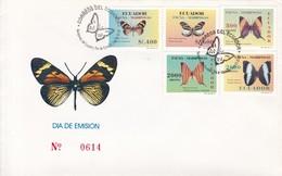 FDC. FAUNA. MARPOSAS DEL ECUADOR-OBLITERE 1997- BLEUP - Ecuador