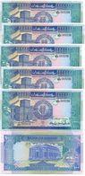 Sudan - 5 Pcs X 100 Pounds 1992 UNC Ukr-OP - Sudan