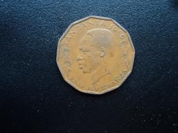 TANZANIE : 5 SENTI  1966  KM 1   TTB+ / TTB - Tanzanie