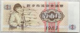 Mini Billete China. Provincia De Liaoning. 1 Yuan. 1983. Sin Circular - China