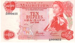 Mauritania P.31c 10 Rupees 1967 Unc - Mauritius