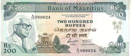 Mauritius P.39 200 Rupees 1985 Unc - Mauritius