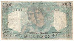 Billets >  France > 1000 Francs 1945 - 1871-1952 Anciens Francs Circulés Au XXème