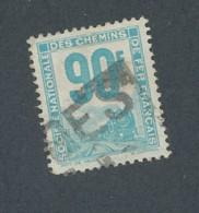 FRANCE - COLIS POSTAUX N°YT 21 OBLITERE - COTE YT : 2.50€ - 1944/47 - Colis Postaux