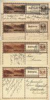 Ab 1927  8 Bildpostkarten Admont & Alt-Aussee  Je 4 Verschiedene Farben - Entiers Postaux