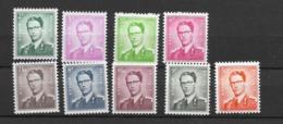 1958 MNH Belgium, Michel 1126-34 Postfris** - Bélgica