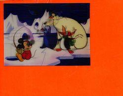 Walt DISNEY Productions En 3D - Vision Relief - Mickey , Der Fischer  - Fantaisise - Carte à Système (non écrite) - Cartes Postales