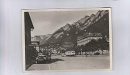 Chur  - Bahnhof - Postauto Saurer - Eisenbahn -(516) - GR Grisons