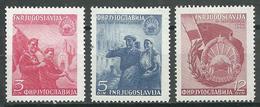 Yougoslavie YT N°517/519 Rattachement De La Macédoine Neuf/charnière * - 1945-1992 República Federal Socialista De Yugoslavia
