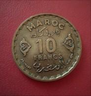 MAROC 10 FRANCS 1371  (RA14) - Marruecos
