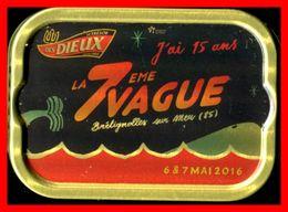 BOITE DE SARDINES - LA PERLE DES DIEUX - LA 7 EME VAGUE - 6 ET 7 MAI 2016 - GENDREAU  - SAINT GILLES CROIX DE VIE - - Other