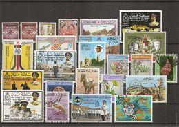 Oman ( Lot De Timbres Divers Différents Oblitérés) - Oman