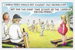 Fitzpatrick - Cricket Comic Card - Cricket