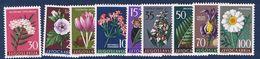 1957 :seconda Serie Flora  - Nuovi - Perfetti - ** - 1945-1992 Repubblica Socialista Federale Di Jugoslavia