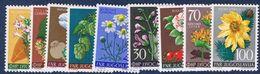 1955 : Prima Serie Flora  - Nuovi - Perfetti - ** - 1945-1992 Repubblica Socialista Federale Di Jugoslavia
