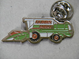Pin's - CLAAS Moissonneuse-batteuse - Machine Agricole CLAAS MAXI - Trademarks
