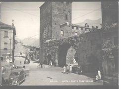 Aosta   Porte Praetoriane Big Format Postcard Ed.Cartoleria Teppex Berthel - Aosta