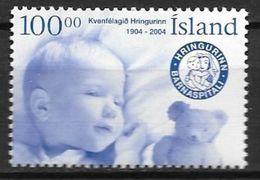 Islande 2004 N°997 Neuf** Association Pour La Santé Des Enfants - 1944-... Republik