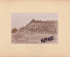 PHOTO ANCIENNE,1880,BELGIQUE,LIEGE - Places