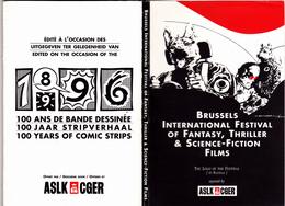 100 Ans Bande Dessinée Bruxelles Festival Film Fantastique - Dépliant De 14 CPM TBE 1996 Neuves Buzzelli Schuiten Tardi - Illustrateurs & Photographes