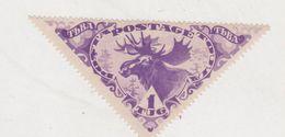 DEER POSTA TOUVA 1935, MI 74, MNH 1 TUG VIOLET - Stamps