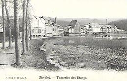 CPA / AK / PK  -  STAVELOT  Tanneries Des étangs - Stavelot